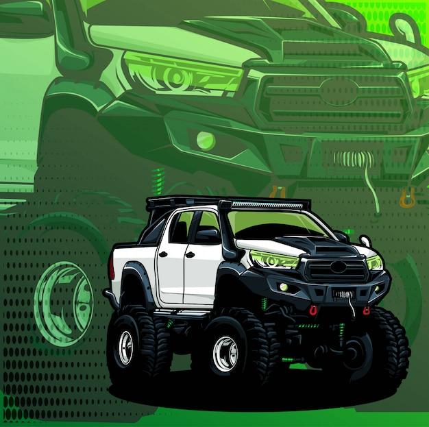 Camionnette 4x4