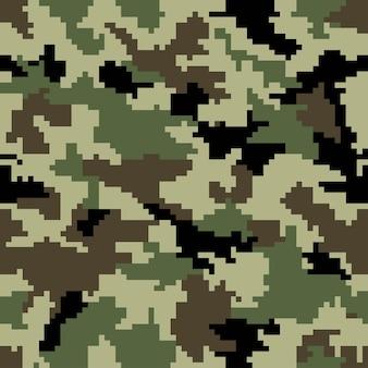 Camouflage de pixels numériques. arrière-plan transparent. vecteur eps 10.