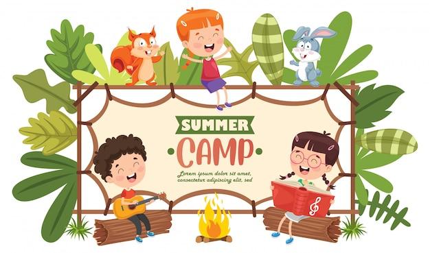 Camp d'été pour enfants