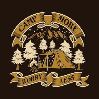 Camp plus inquiet moins