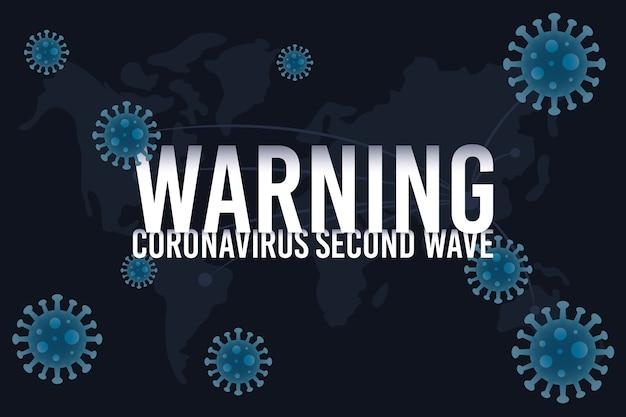 Campagne de deuxième vague covid19 avec particules
