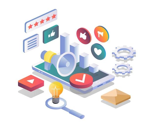 Campagne de marketing numérique de transformation