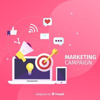 Campagne de marketing