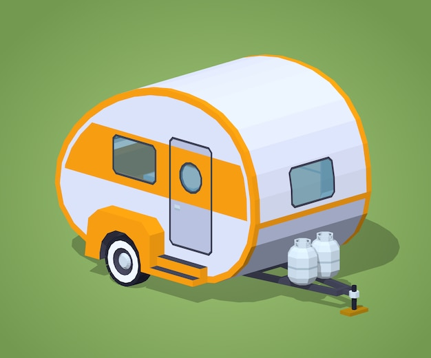 Camping-car rétro