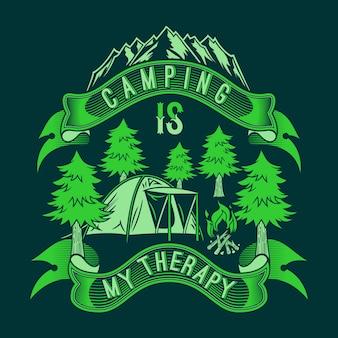 Le camping est ma thérapie