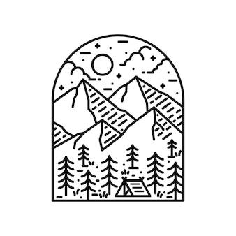 Camping randonnée escalade nature aventure