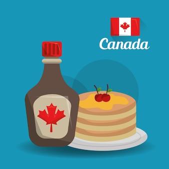 Canada pays américain nourriture