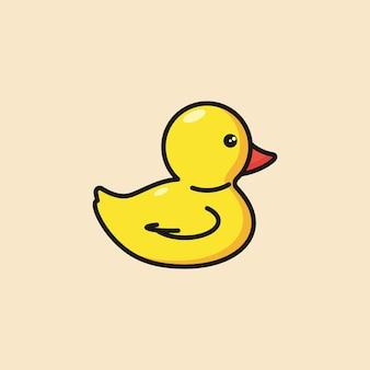 Canard en caoutchouc