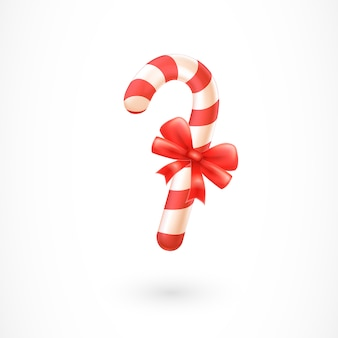 Candy cane avec bow