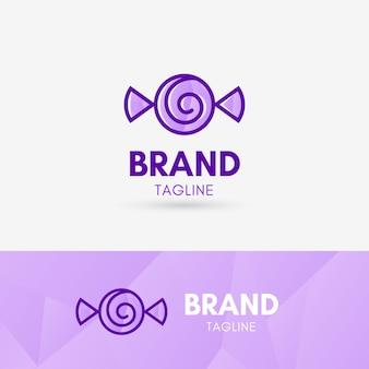 Candy logo géométrique