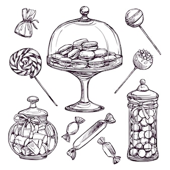 Candy sketch set