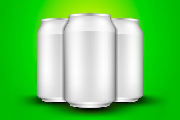 Canette de bière courte