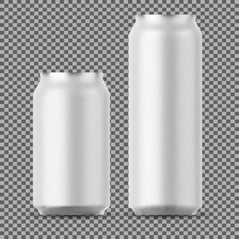 Canettes en aluminium