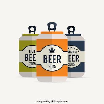 Canettes de bière