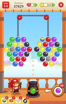 Cannon ball shooter jeux assets