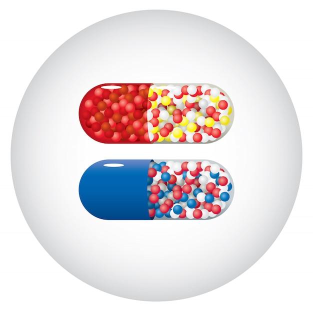 Capsules de médecine