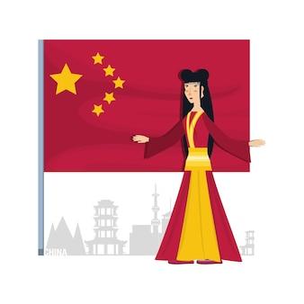 Caractère de la culture chinoise geisha culture