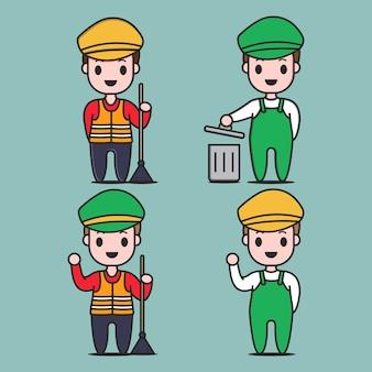 Caractère de garbage collector