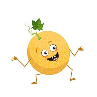 Caractère de melon mignon