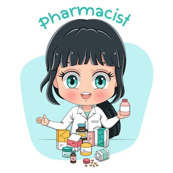 Caractère pharmacien