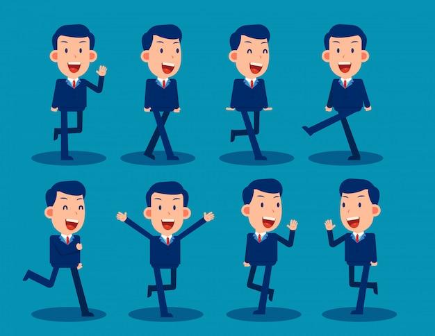 Caractère simple d'homme d'affaires à utiliser dans la conception