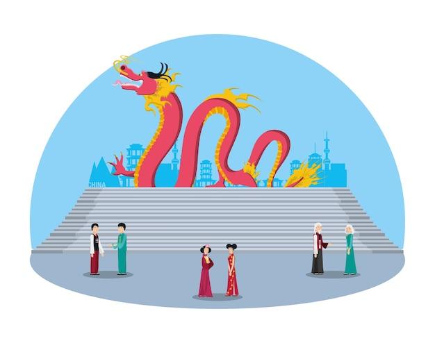 Caractères de gens de culture chinoise