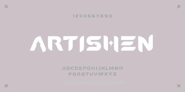 Caractères de police abstraits alphabet design type défini royal classic vintage et concept contemporain