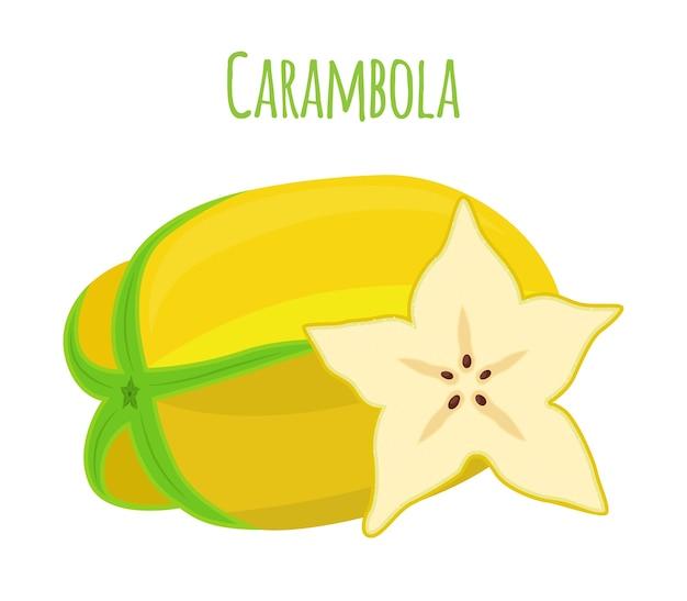 Carambole, fruit étoile