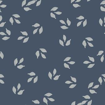 Cardamome modèle sans couture sur fond gris foncé. ornement de croquis de plante mignon. modèle de texture aléatoire pour le tissu. illustration vectorielle de conception.