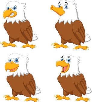 Caricature de l'aigle abandonnant le pouce