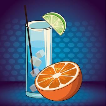 Caricature de boisson alcoolisée