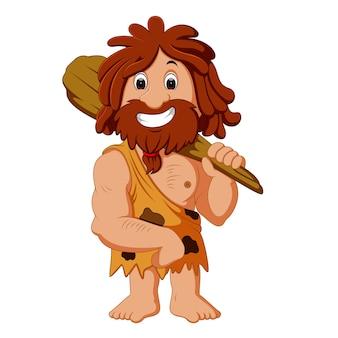 Caricature de caveman