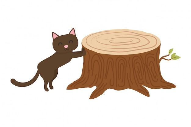 Caricature de chat