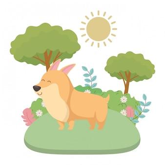 Caricature de chien
