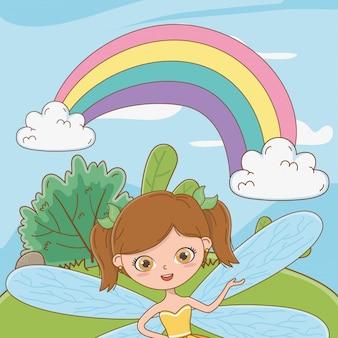 Caricature de conte de fées