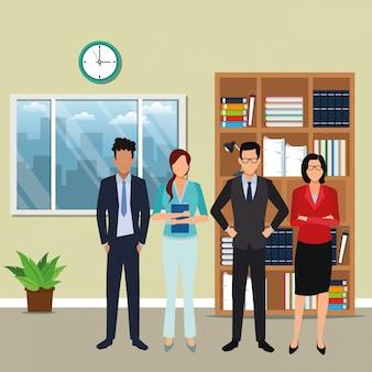 Caricature d'entreprise