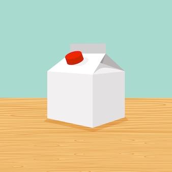Caricature de la ferme de lait