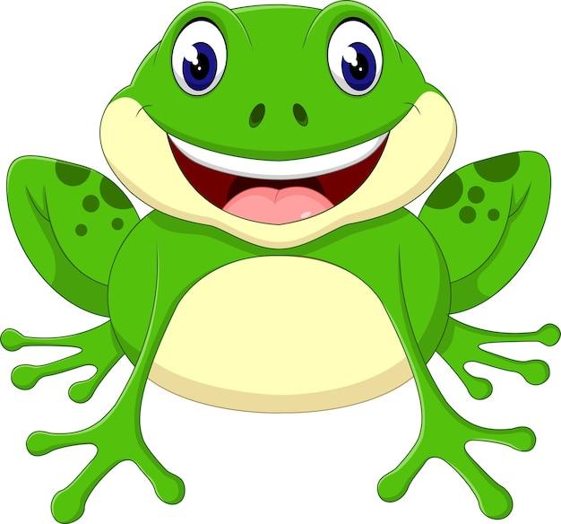 Caricature de grenouille