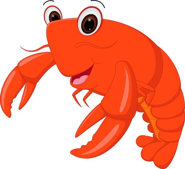 Caricature de homard