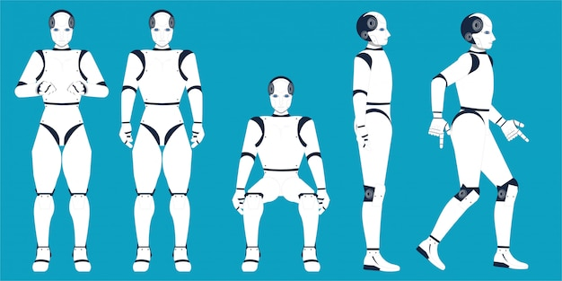 Caricature de l'intelligence artificielle