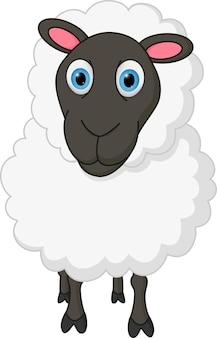 Caricature de moutons