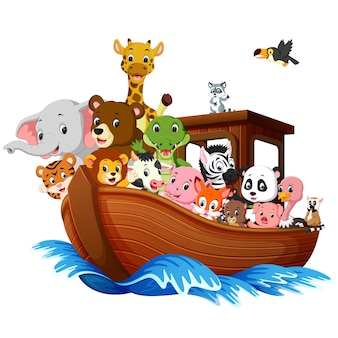 Caricature de noah ark