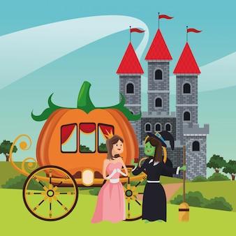 Caricatures de contes de fées