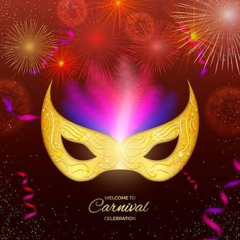 Carnaval brésilien réaliste