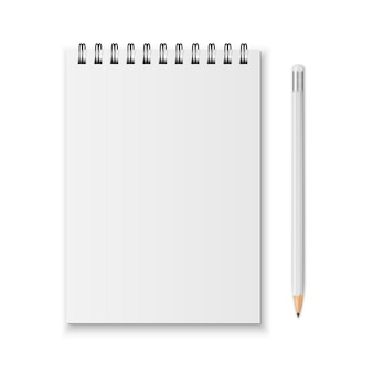 Carnet et crayon
