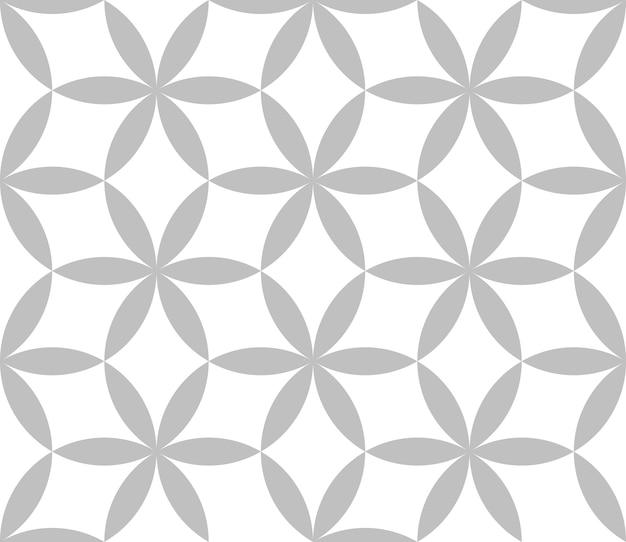 Carreau de motif géométrique sans soudure modifiable