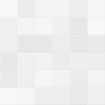 Carreaux blancs et gris sur fond de mur de salle de bain. texture transparente de vecteur en mosaïque