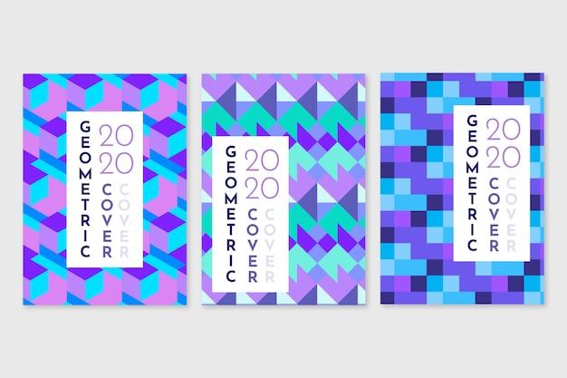 Carreaux de décoration intérieure collection de couverture géométrique abstraite