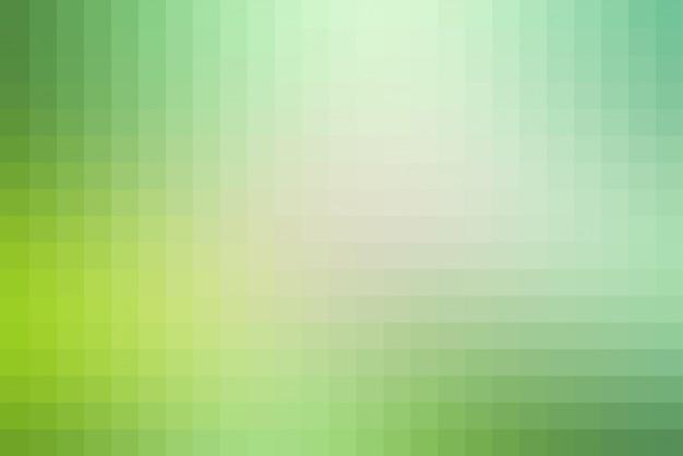 Carreaux de mosaïque carrés de teintes vert clair