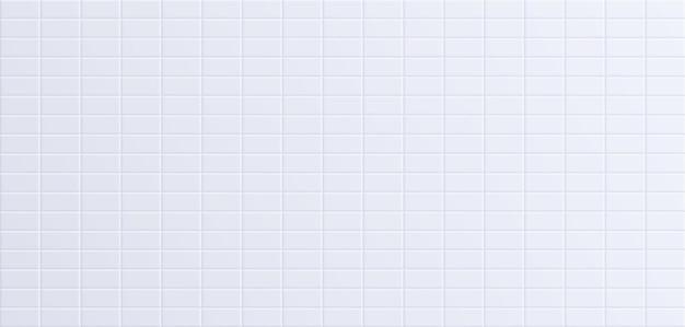 Carrelage de salle de bain blanc, fond de surface de mur en céramique propre. illustration vectorielle.